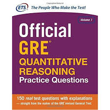 کتاب Official GRE Quantitative Reasoning Educational Testing Service