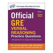 کتاب The Official Guide to the GRE Verbal Reasoning Practice Questions Vol One