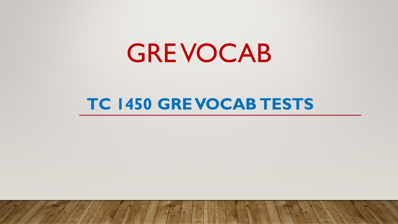 TC_1450_GRE_Vocab_Tests_PDF