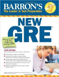 کتاب جی آر ای Barron's New GRE 19th Eddition