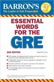 کتاب Barron's 800 Essential Words for the GRE