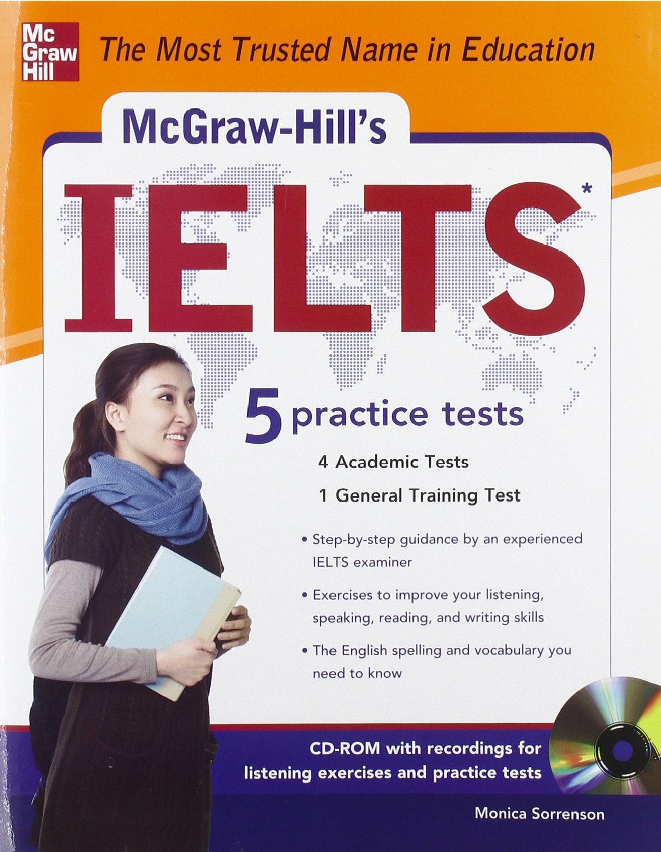 فایل پی دی اف کتاب Mc-GrawHill Education IELTS 5 Practice Tests )