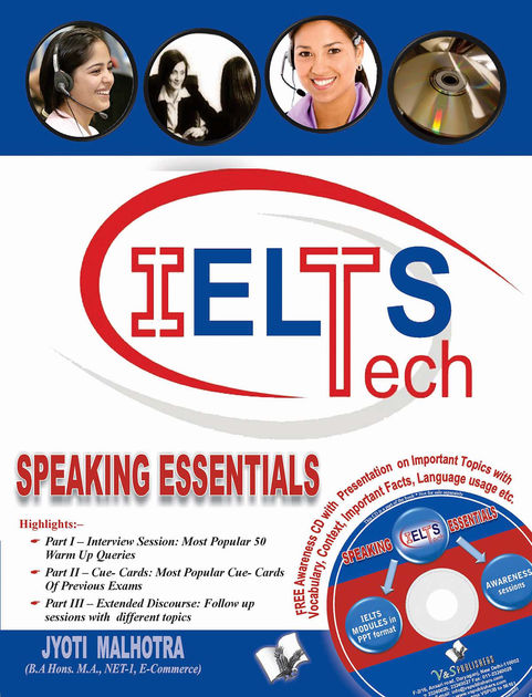 فایل پی دی اف کتاب Jyoti Malhotra IELTS Speaking Essentials